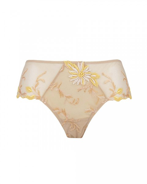 Lise Charmel Shorty Fleur Aphrodite Gelb - Detailansicht