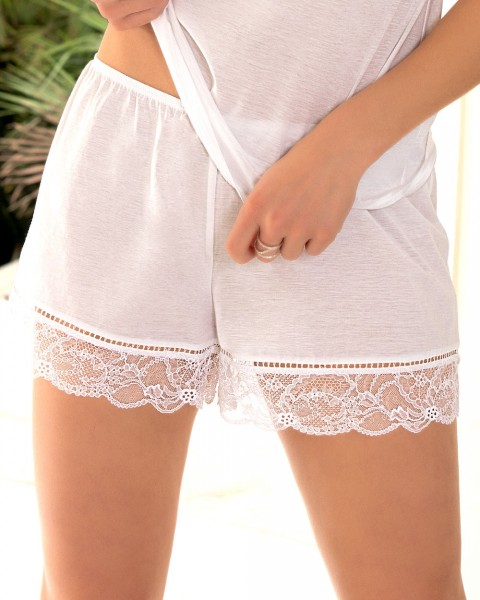Lise Charmel Shorts Affinite Couture Weiss