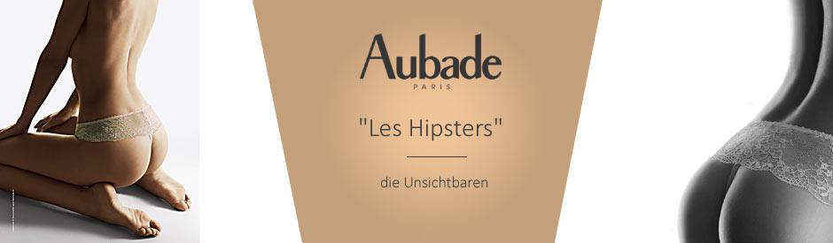 Les Hipsters Dessous von Aubade Spitze im Hautton für alle Tage