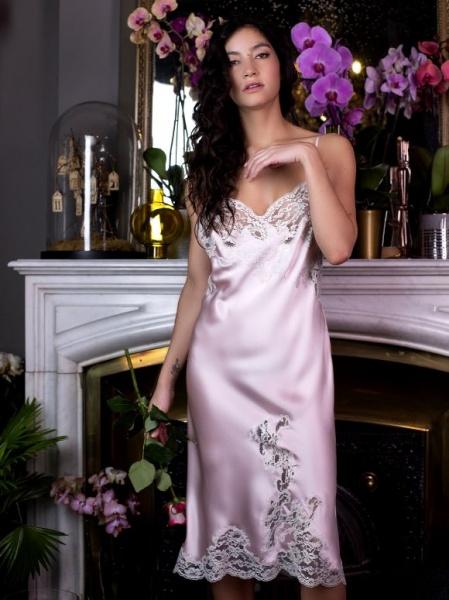 Majolaine - Slip Dress Quartz / Perle- M-3Mar6101-7011