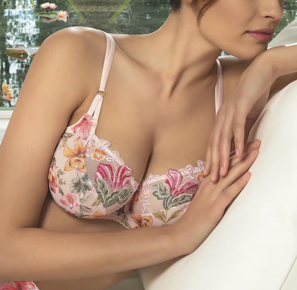 ACG6085 Vollschalen BH Serie Desir en Fleur von Lise Charmel - Farbe Fleur Soleil
