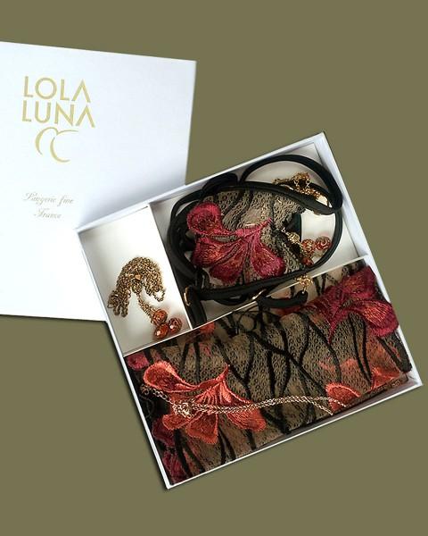 3-teilige Gaia Geschenk Box von Lola Luna