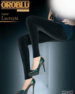 Lucrezia - Samt Leggings, 120 DEN