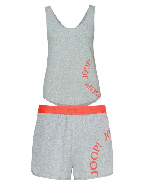 Summer Chic Grau - Tank Top mit Short