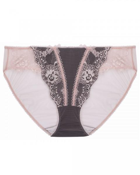 Slip Savoire Faire von Dita von Teese - Farbe Schwarz-Rosa