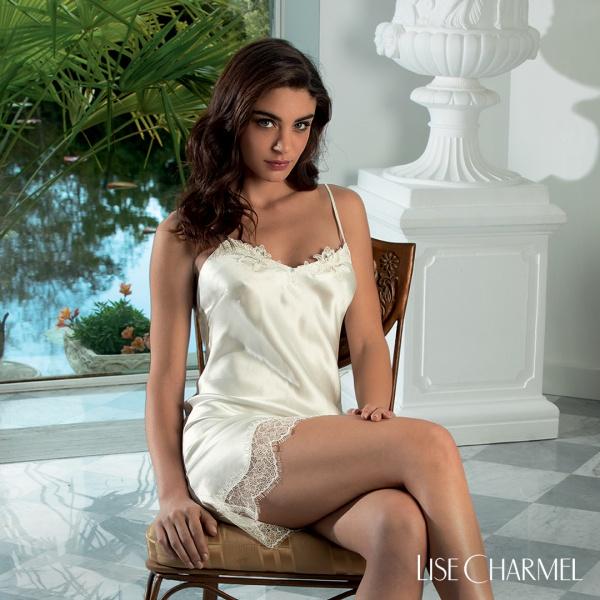 Lise-charmel-dessous-S62-Emotion Beaute-ALS1062-Weiß-Seiden Nachthemd-5-jpg
