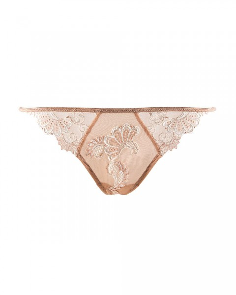 Dressing Floral - Sexy String Nude