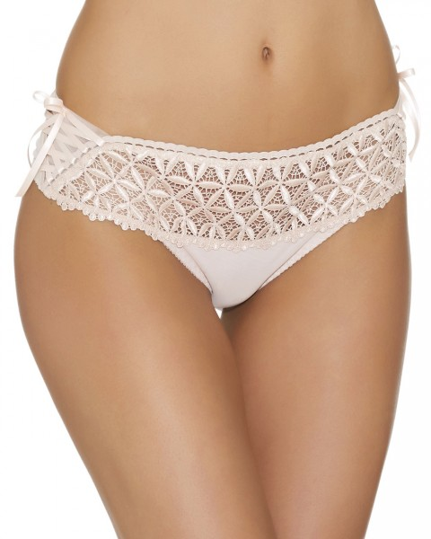 Hot String Serie Bahia Couture von Aubade - Farbe Rose Nude