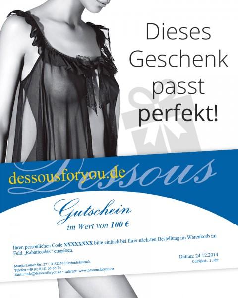 Der Geschenk-Gutschein von Dessous for you