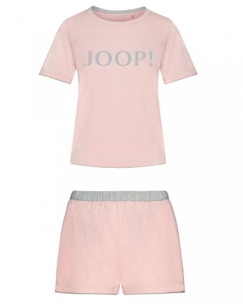 JOOP! 2-teilges Set T-Shirt mit Shorts Rosa - Detailansicht
