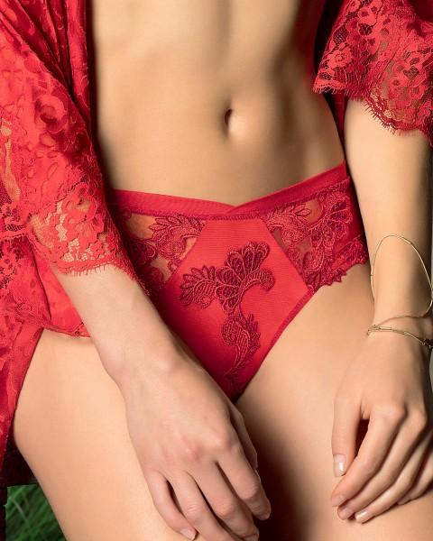 Lise Charmel Shorty oder Sexy French String Serie Dressing Floral