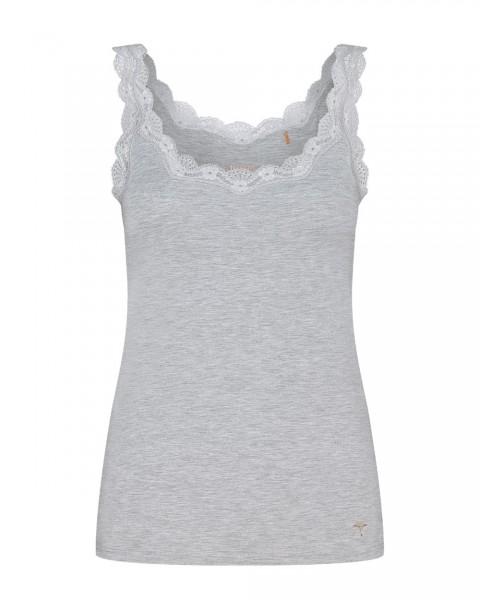 Joop Hemdchen mit Spitzen Mere Comfort Grau - Detailansicht