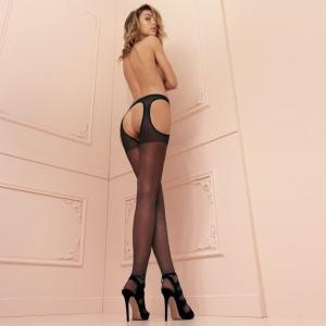 Scandal Strip Panty - offene Strümpfe
