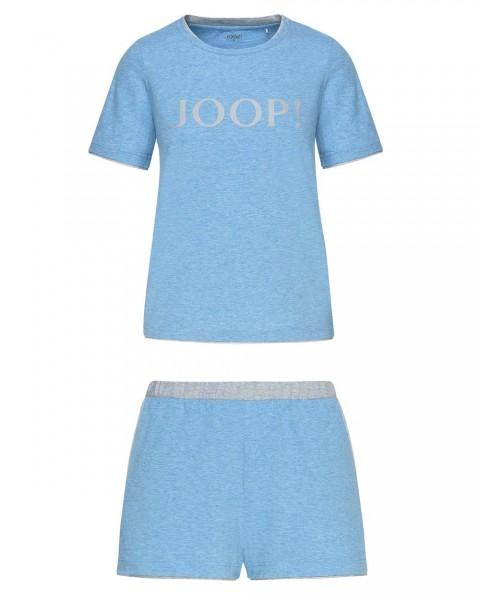 JOOP! 2-teilges Set T-Shirt mit Shorts Denim Blau - Detailansicht