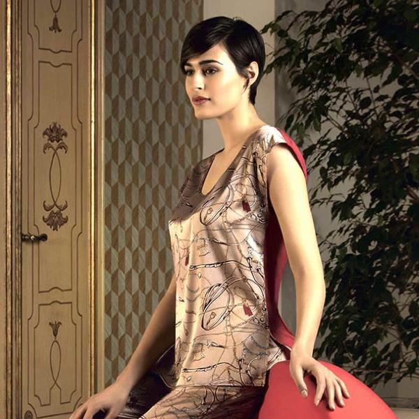 Lise Charmel-Séduction Cavalière-Ambre Cavaliere-ALH-4309-Seiden T Shirt