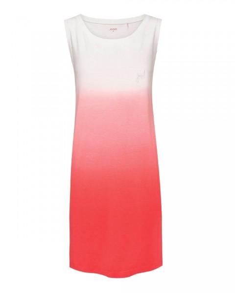 JOOP! langes Shirt/Kleid im Batik Look Soft Pop Ecru/Koralle - Detailansicht