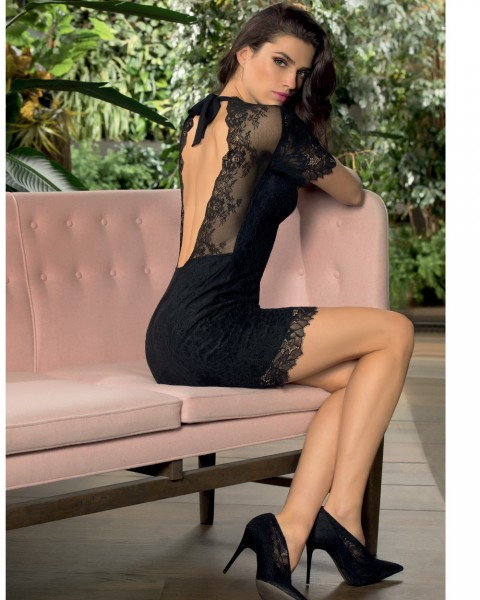 Lise Charmel Spitzen Kleid Resille Lotus