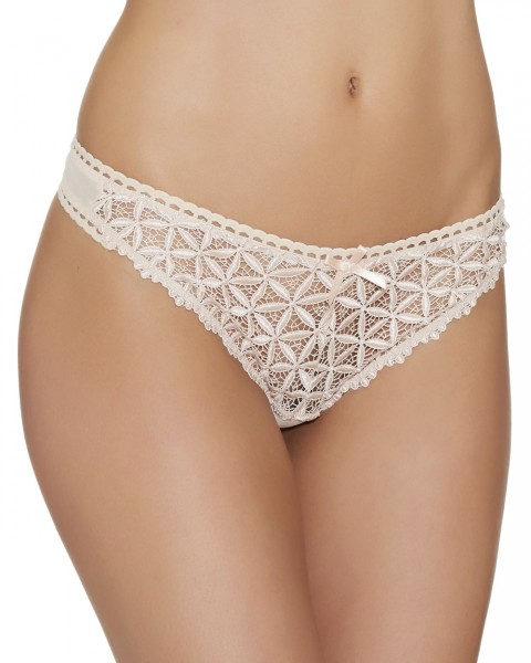 String Serie Bahia Couture von Aubade - Farbe Rose Nude