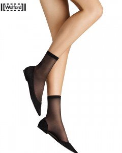 Satin Touch 20 Schwarz - Socks