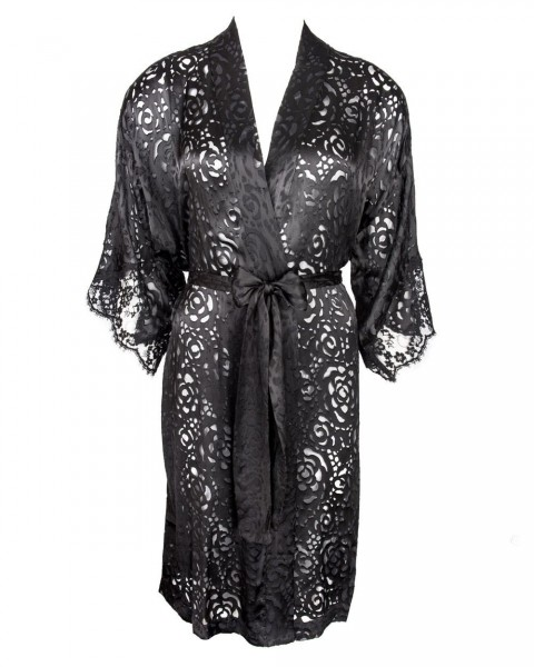 Lise Charmel Negligee oder Kimono Serie Dressing Floral - Detailansicht