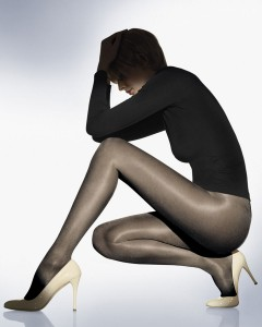Satin Touch 20 tights Schwarz - Strumpfhose