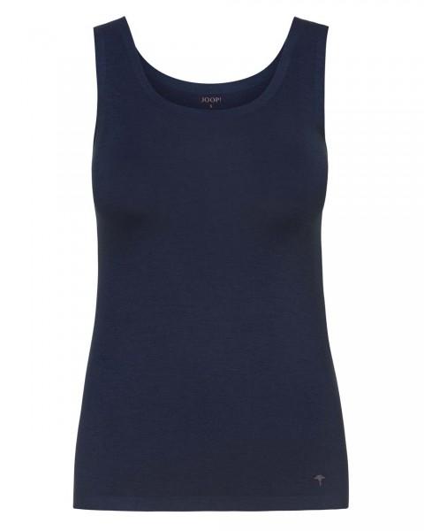 JOOP! Tank Top glattes Modal Mere Comfort Midnight Blau - Detailansicht