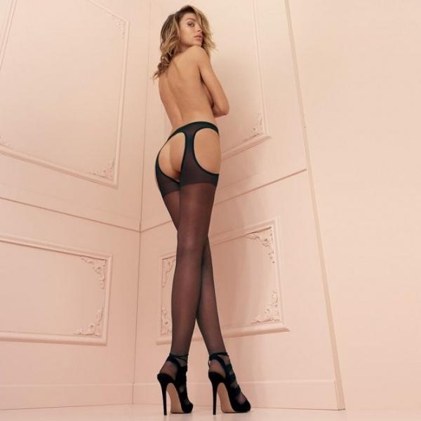 Scandal Strip Panty offene Strumpfhose