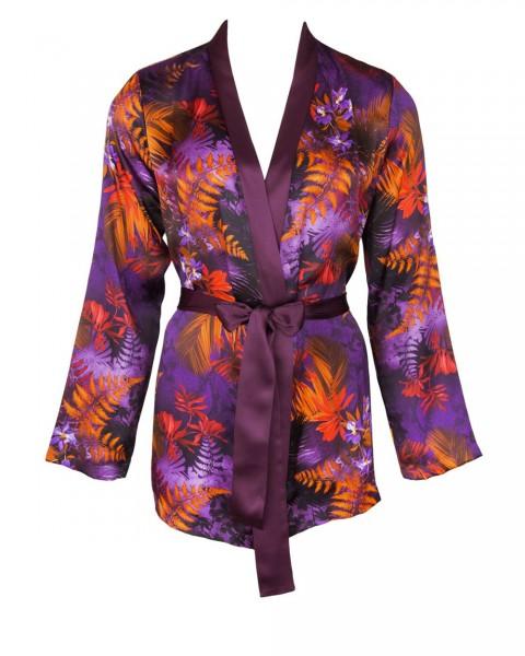 Foret Lumiere - Seiden Pyjama Jacke